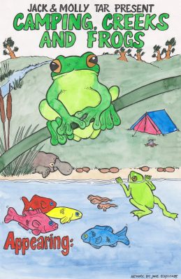 Camping, Creeks & Frogs