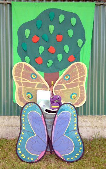 Caterpillar and Moth Set